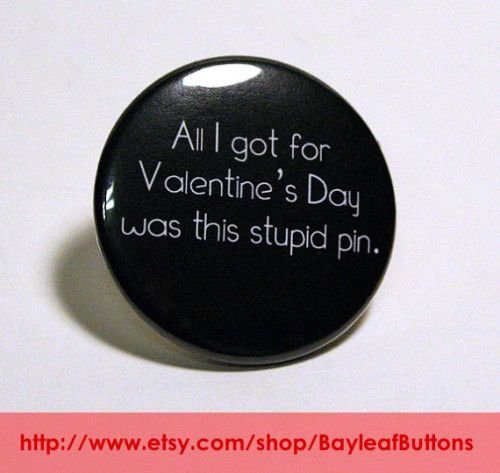 Get inspired for Valentine's Day, whether you are buying for that special someone or making your own buttons. By Bayleaf Buttons featured on @Button Biz