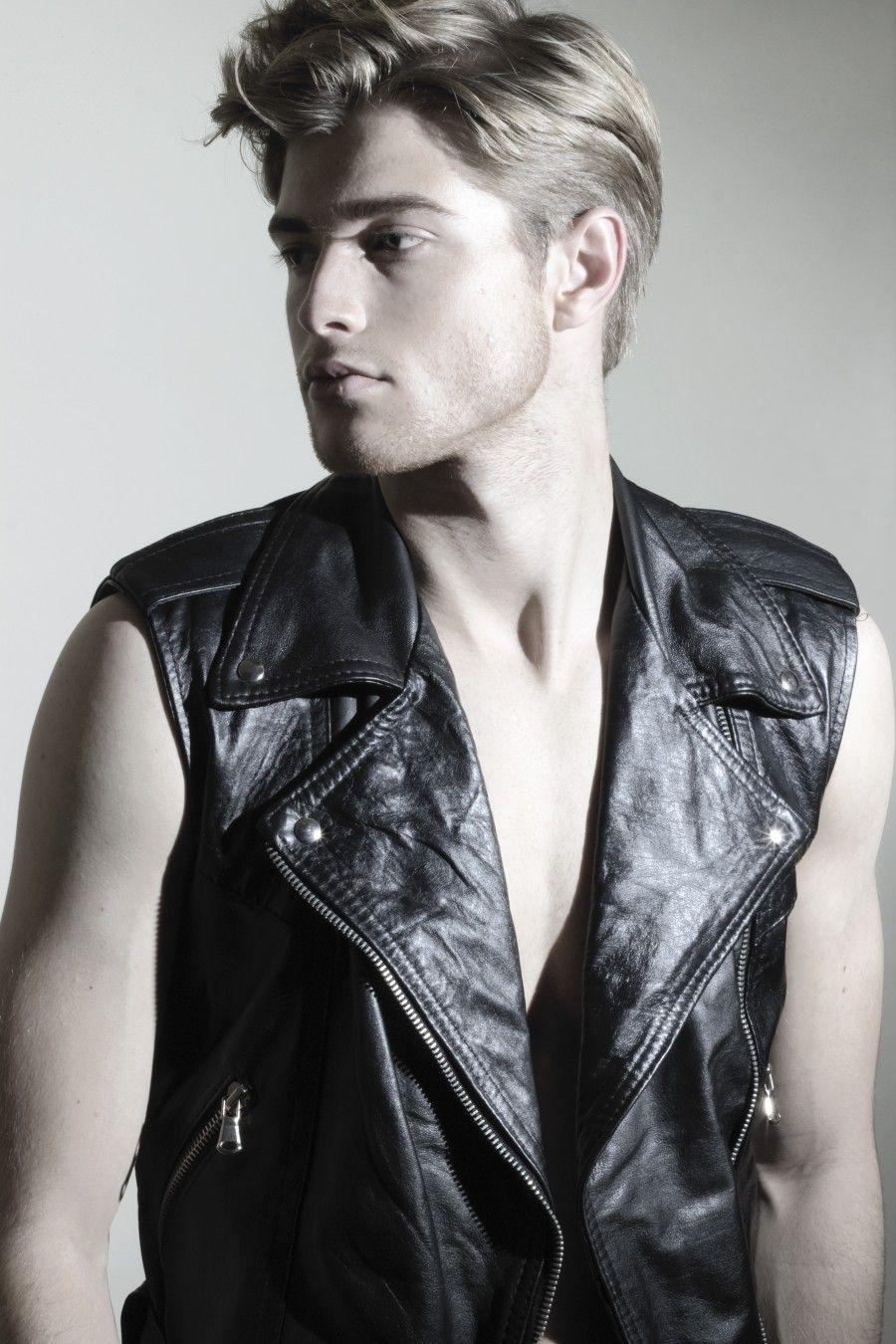 Leather vest - RUDI DOLLMAYER
