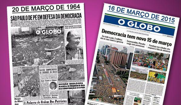 Por Dentro... em Rosa: As semelhanças nestas capas do jornal O Globo não ...