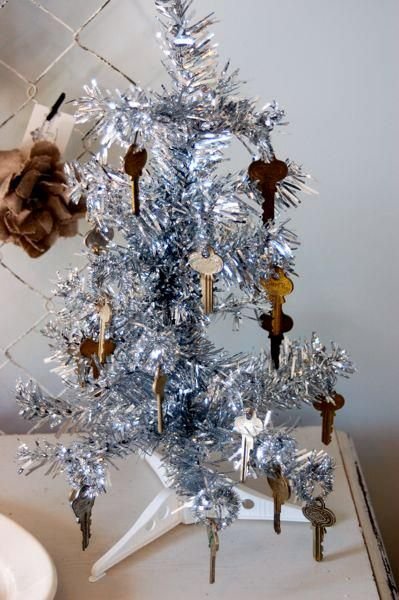 key ornaments at Vintage Junky in Spring Hill, TN