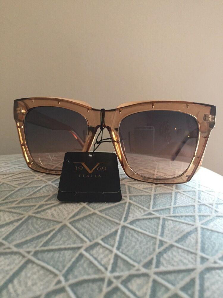 bdefd653ff7d 19V69 Italia Versace 1969 016 Vittoria Women s Sunglasses NWT Rare