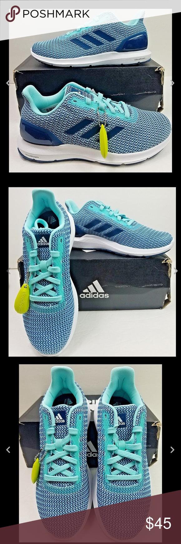 bca60840 Adidas Cosmic 2 Sl W knit sneakers running shoes 7 Adidas Cloudfoam ...