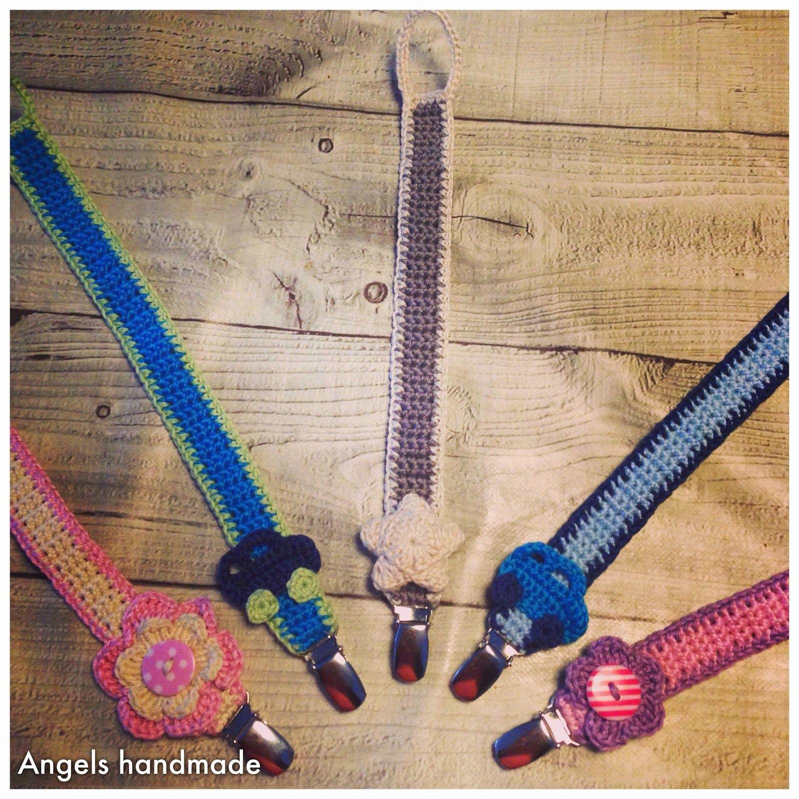 Gehaakte Speenkoord Gratis Patroon Baby Shower Crochet Pinterest