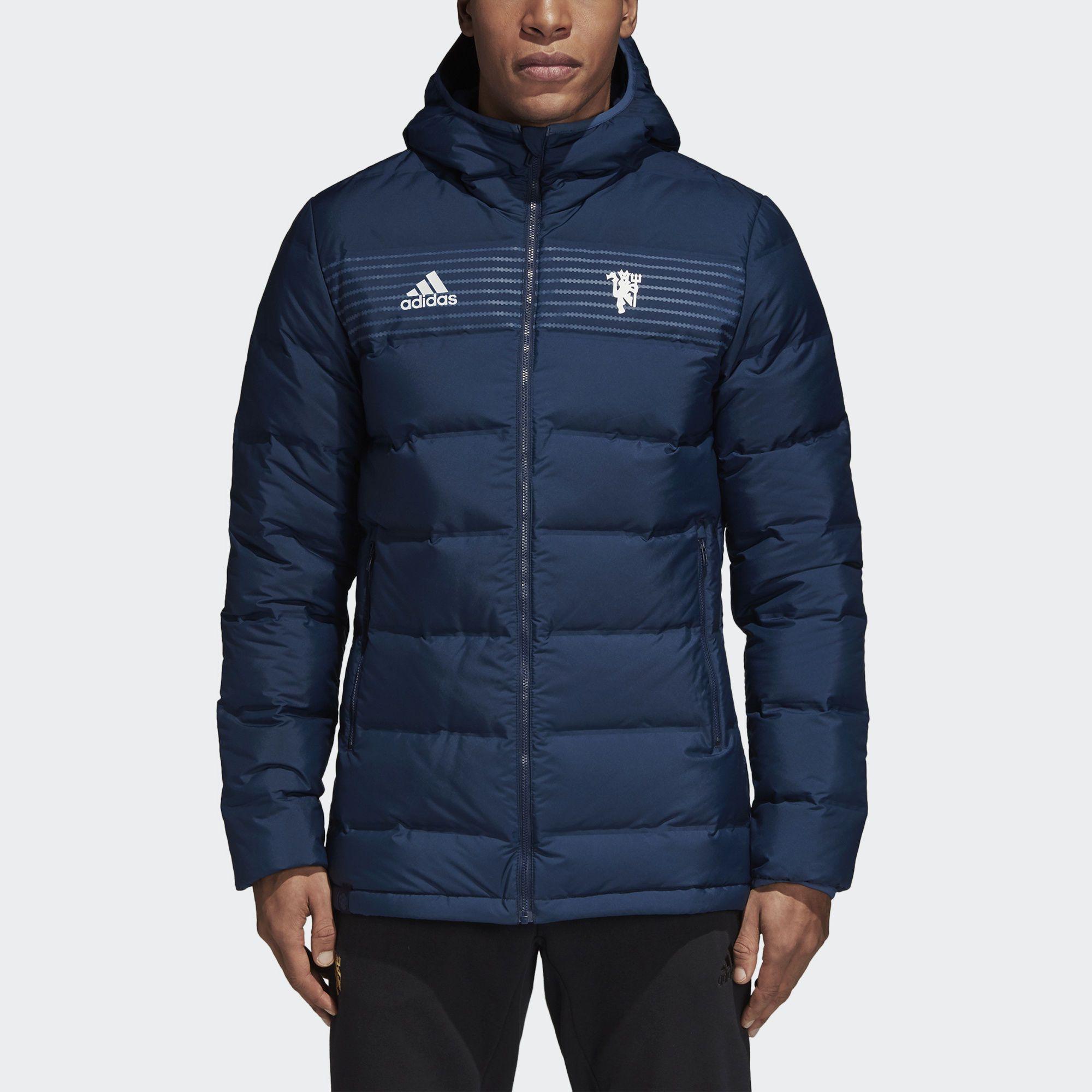 Манчестер юнайтед тёплая куртка