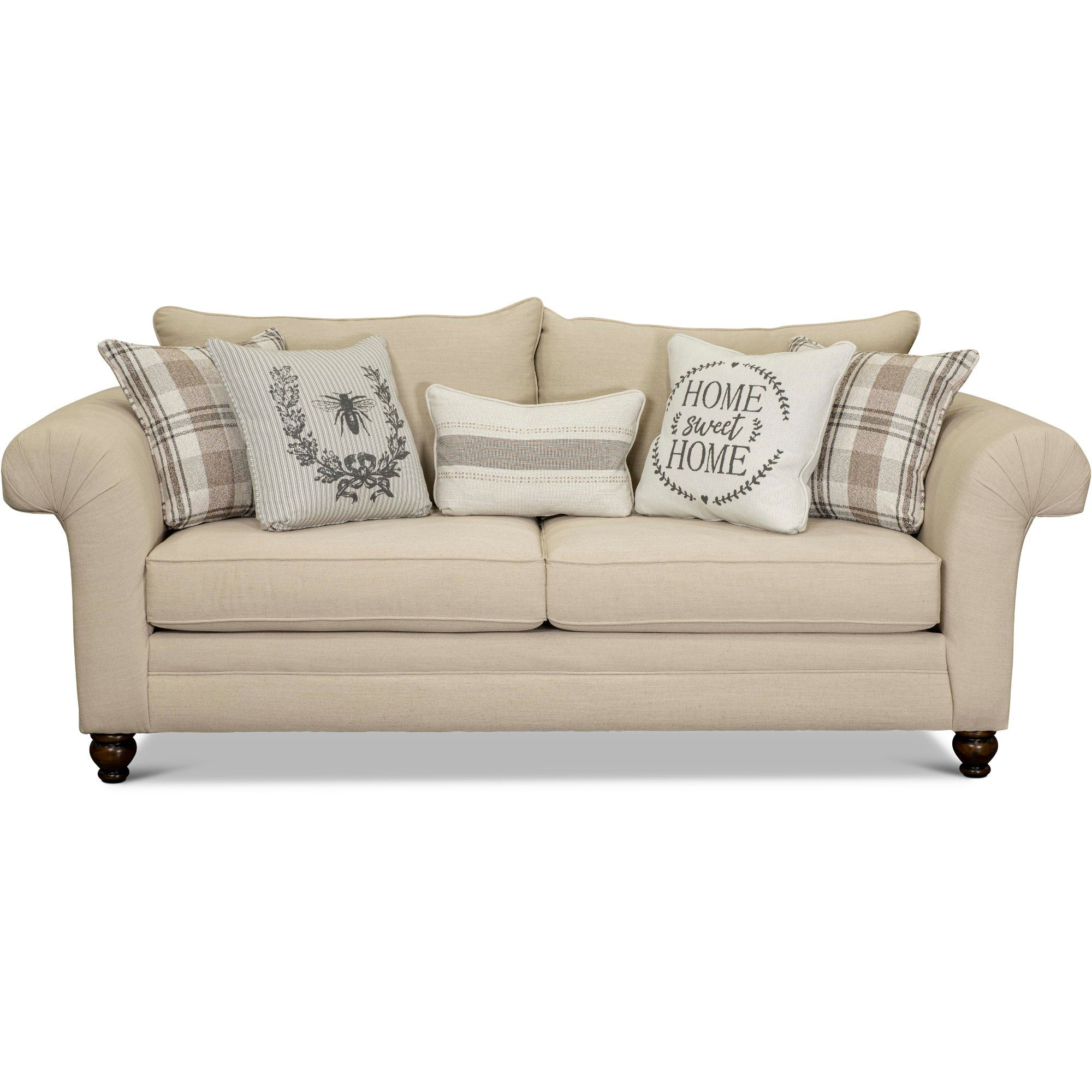 Traditional Birch White Sofa Caitlin Rc Willey Furniture Store In 2020 Farmhouse Living Room Furniture Farmhouse Sofa Farm House Living Room #rc #willey #living #room #set