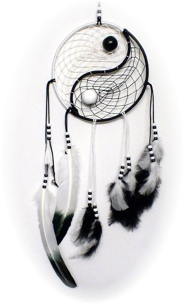 Do It Yourself Dream Catcher DIY Yin Yang Dream Catcher cute ideas Pinterest Yin yang 33