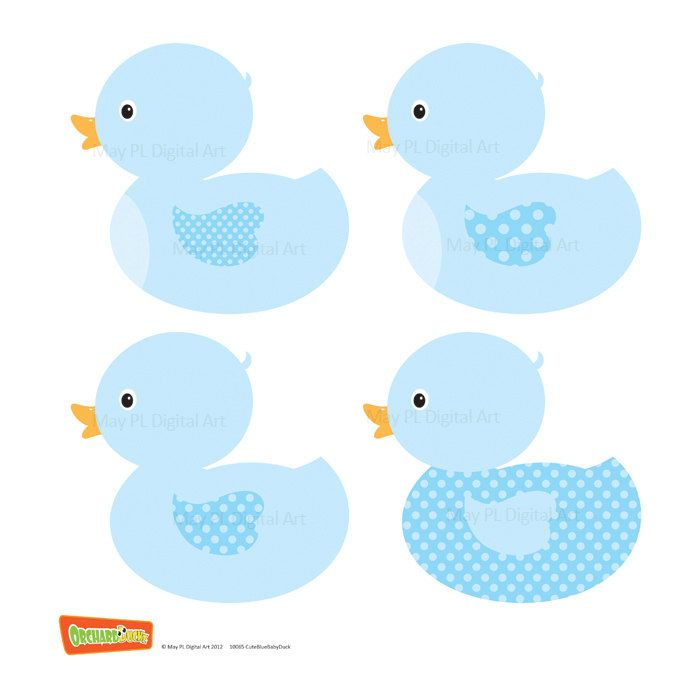 digital clipart clip art ducklings blue baby nursery ducks boy party rh pinterest nz