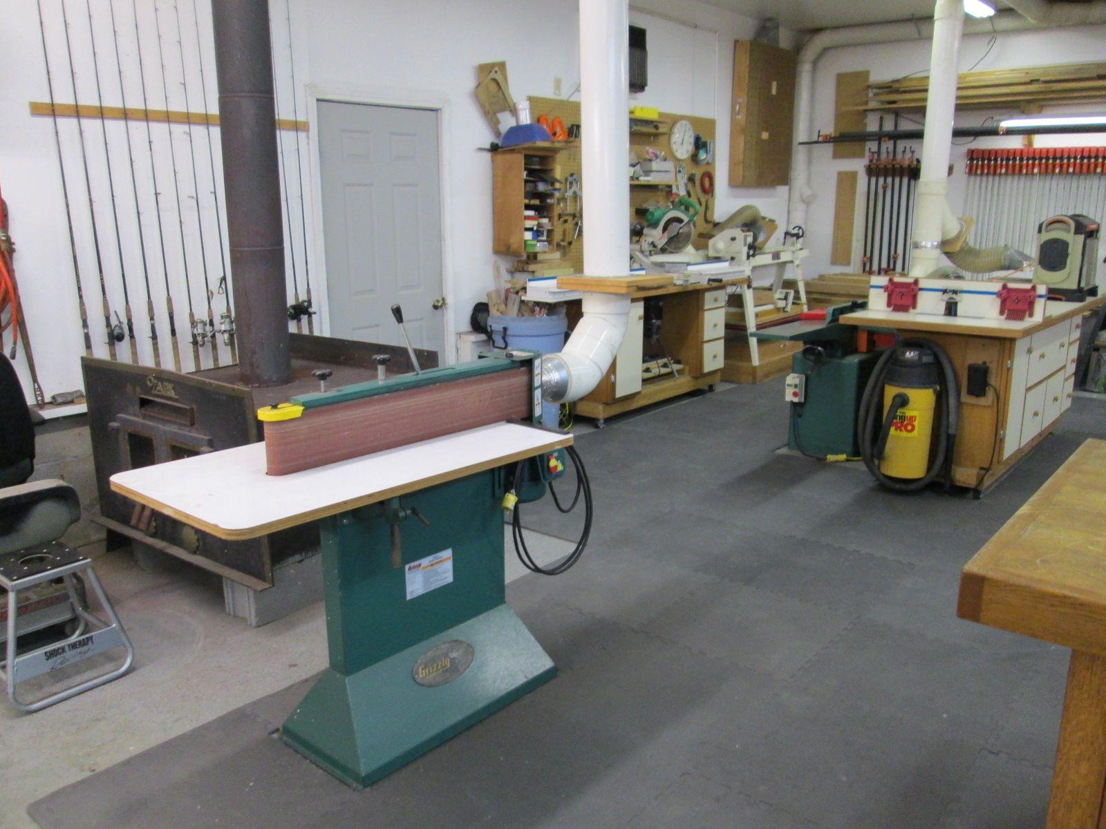 workshop design shop layout garage workshop woodworking shop carpenter wood working [ 1600 x 1200 Pixel ]