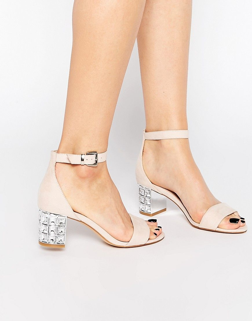 f76492389 Carvela+Leyland+Ankle+Strap+Jewel+Mid+Heeled+Sandals