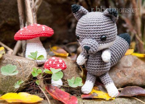 Amigurumi - Wolf crochet - Free Pattern   häkeln   Pinterest ...