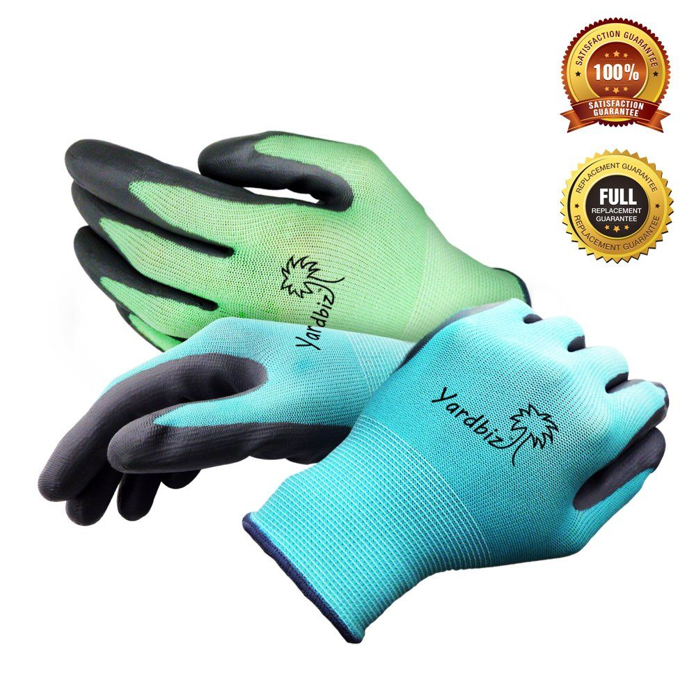 Gardening Gloves Women Small To Medium Nitrile Coated Breathable