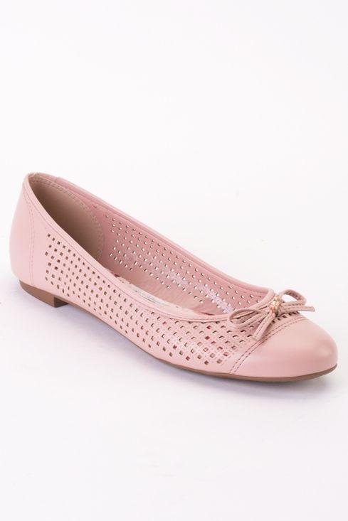 137b934514d Ballerina Moleca con lazo rosada