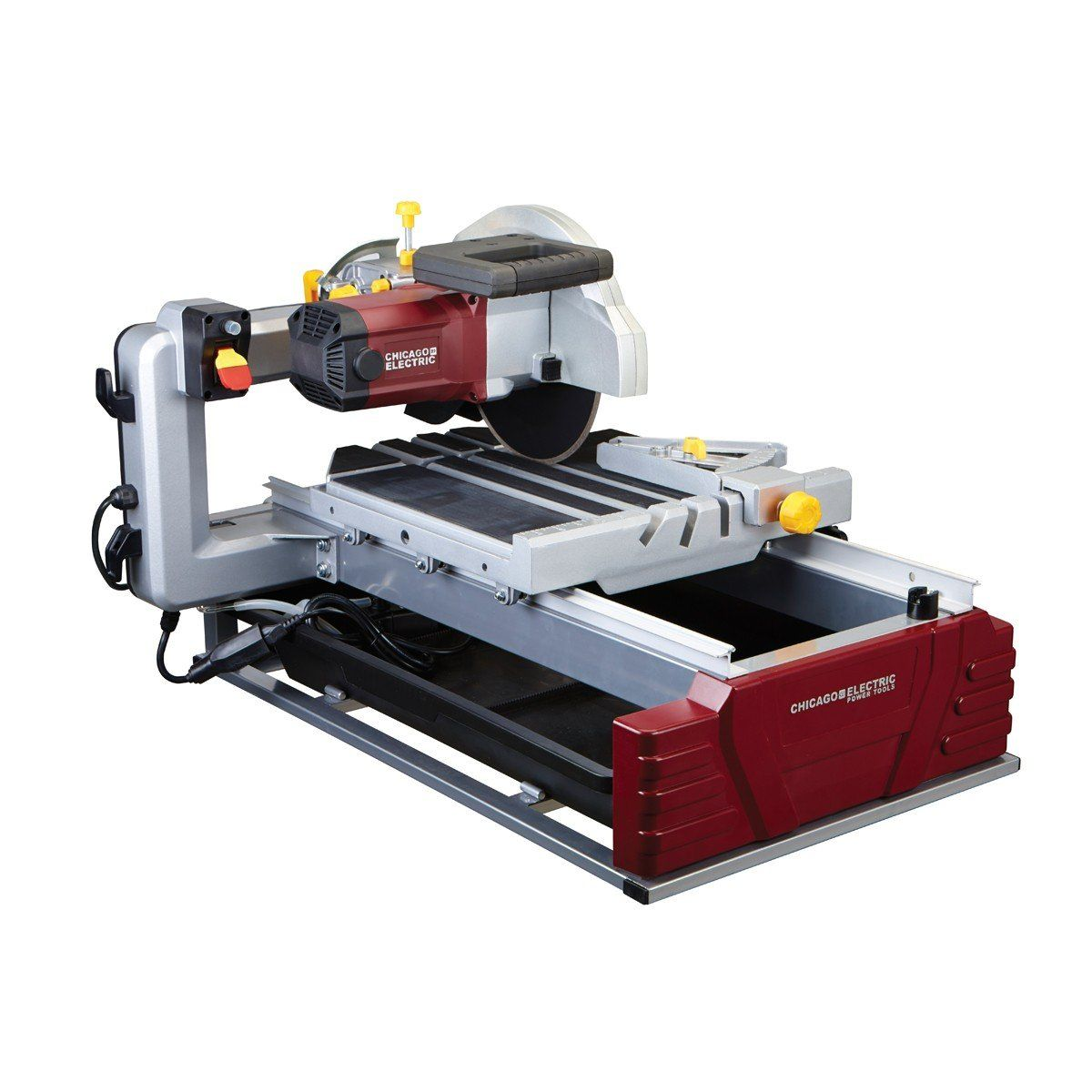Chicago Electronic 2 5 Hp 10 Inch Wet Tile Saw Brick Saw Table Saw Tile Saw