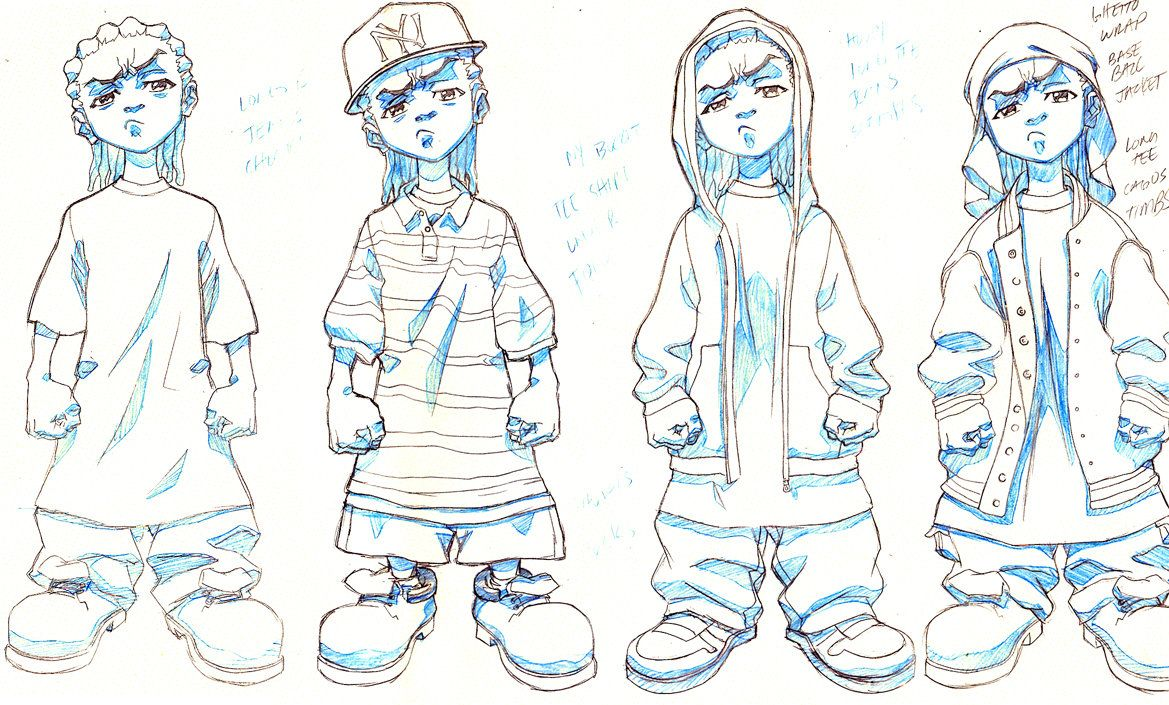 THE BOONDOCKS : RILEY IS GULLY by LeSeanThomas on DeviantArt