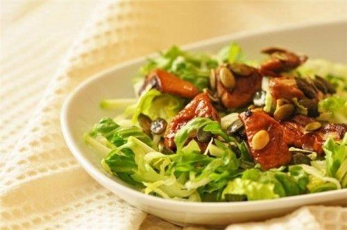 рецепт салата из свежего кабачка
