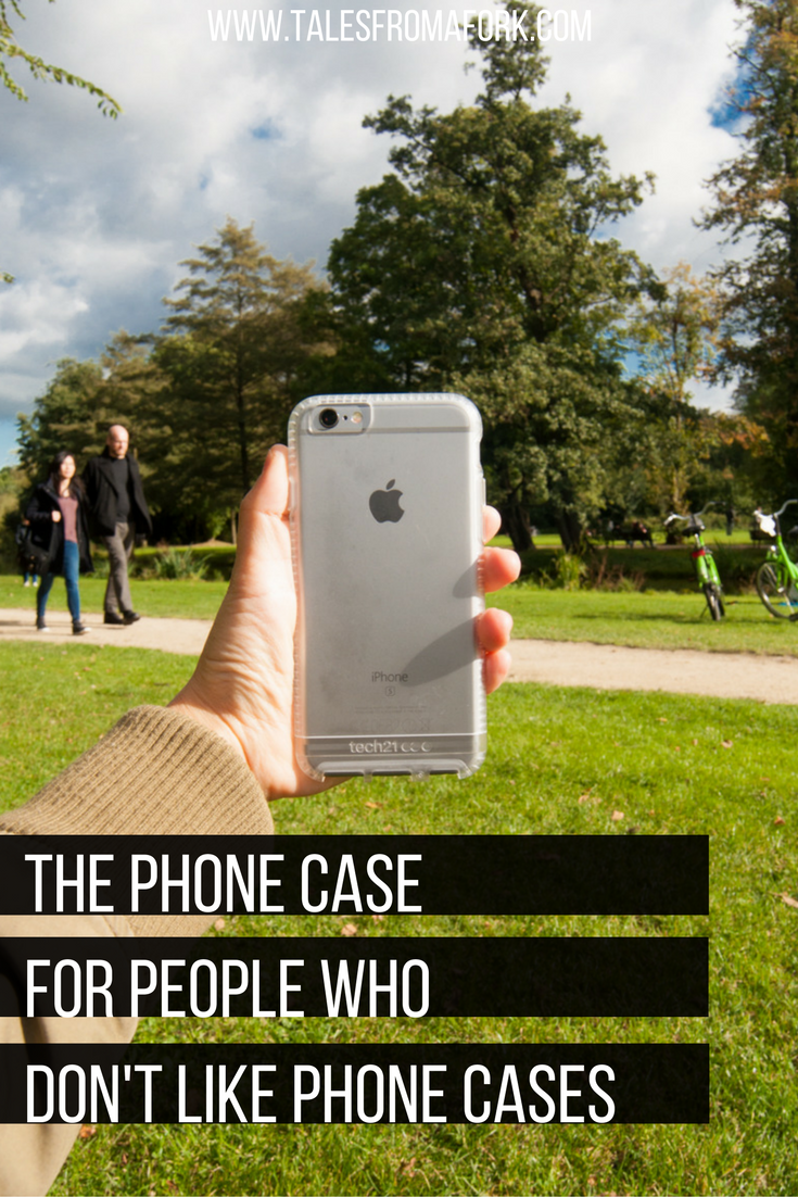tech21's Impact Clear iPhone case is the phone case for
