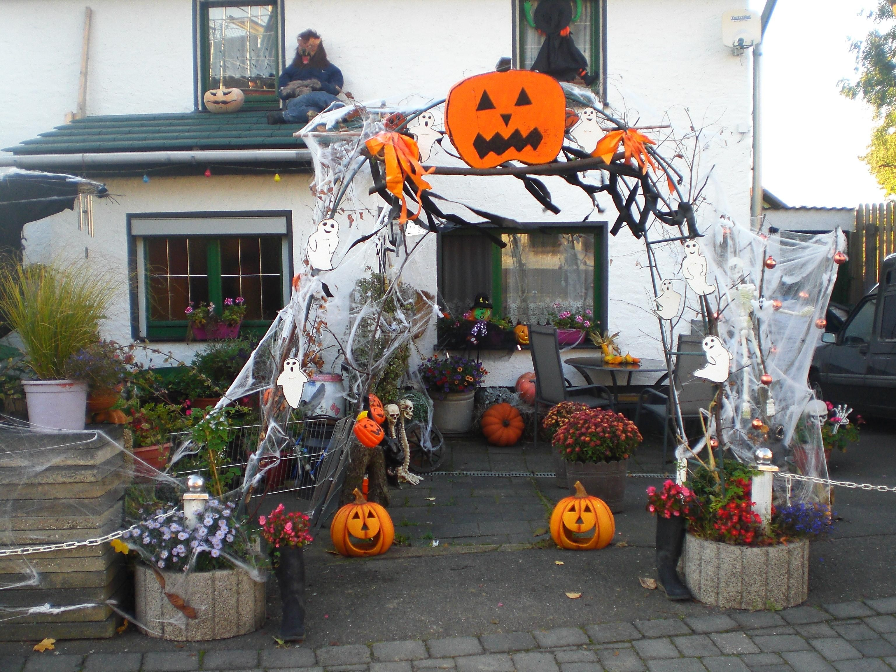 Halloween Deko Außen Halloween Aussen Deko Yard Outdoor Decoration Werwolf Kürbis