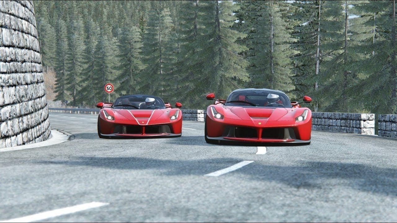 Ferrari Laferrari Aperta Ferrari Laferrari At Provence Alpes
