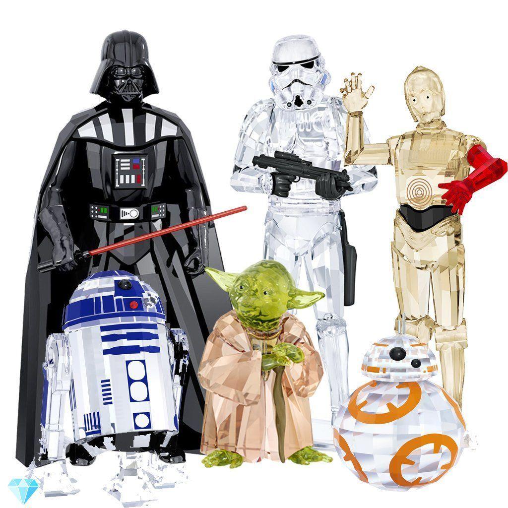 9a60bbf7a Swarovski Disney Star Wars Master Yoda, 5393456, Stormtrooper, 5393588,  Darth Vadar, 5379499 Set | Duty Free Crystal | Duty Free Crystal