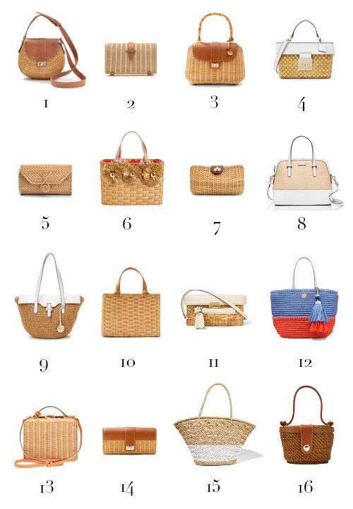 Straw Bag Round Up