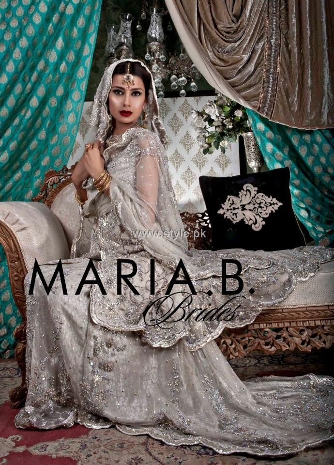 Maria B Bridal Wear Collection 2012 For Women 007 New Bridal Dresses Bridal Wear Maria B Bridal