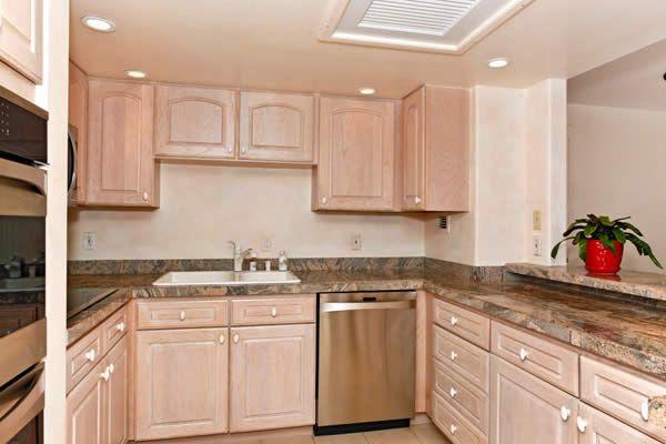 lovely whitewashed oak kitchen cabinets | White Wash Kitchen Cabinets | antique white kitchen ...