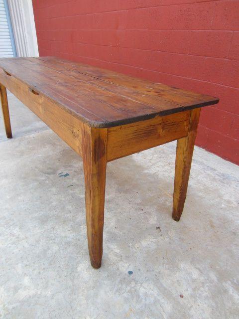 english antique harvest table pine table antique primitive furniture rh pinterest com antique pine harvest table antique oak harvest table