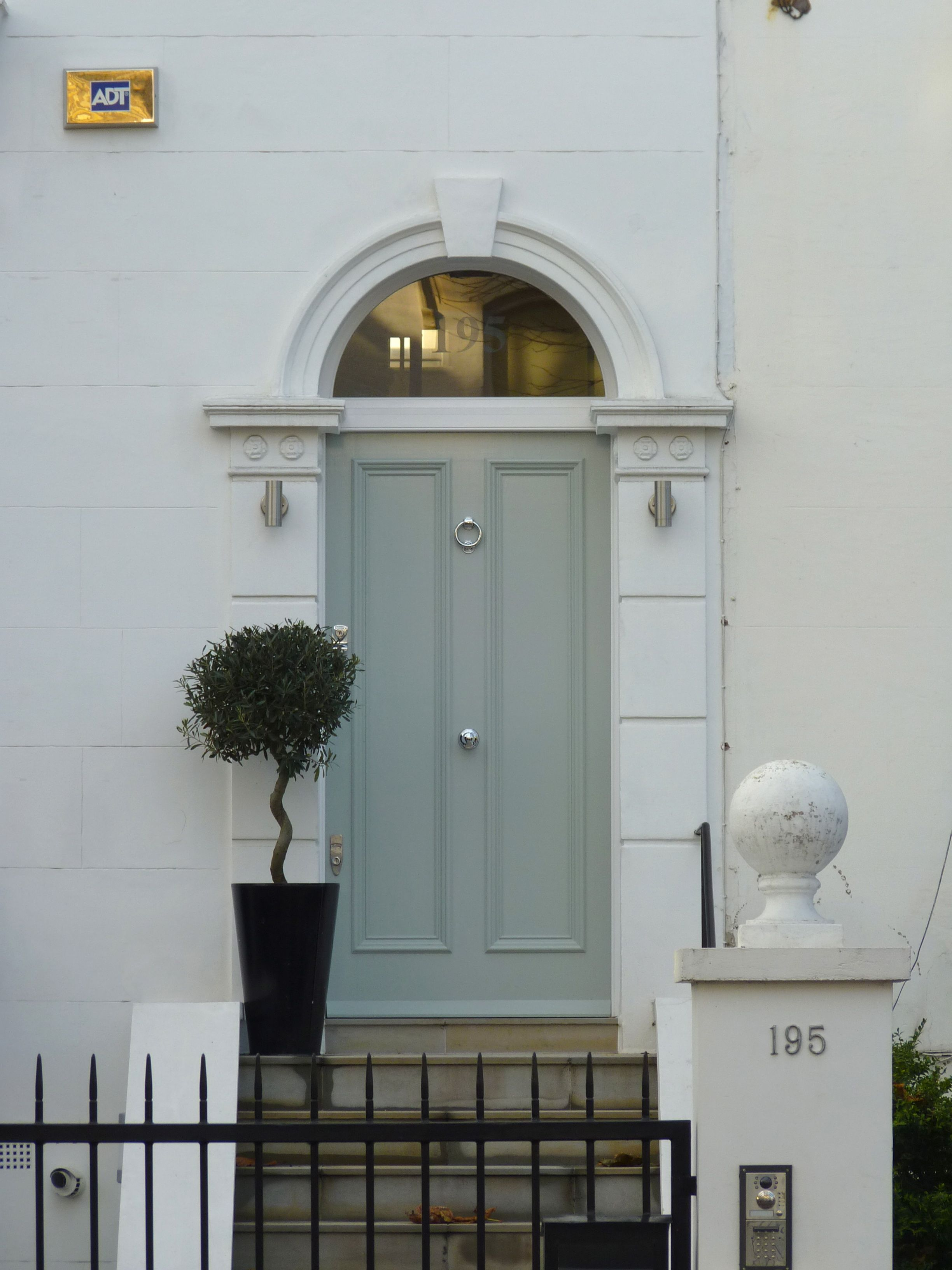 The London Door Company Hammersmith, London - LDC Powder Grey ...