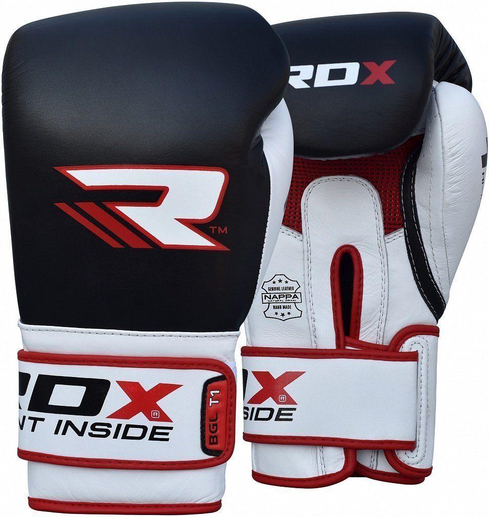 RDX Elite Boxing Gloves Training Sparring Punching Glove Fighting Bag Muay Thai