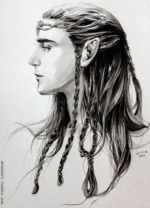 Loki as an elf - Beautiful | Fan Art | Male elf, Elves