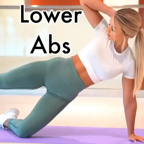 10 mins Lower ABS Workout