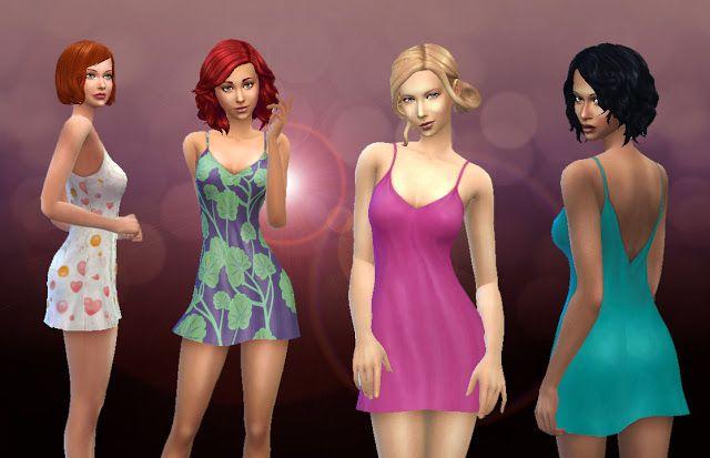 Sims 4 CC's - The Best: Soft Dreams - Sleepwear by Kiara
