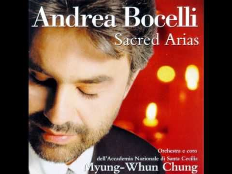 Gloria A Te Cristo Gesu Andrea Bocelli Gounod Musica Musical