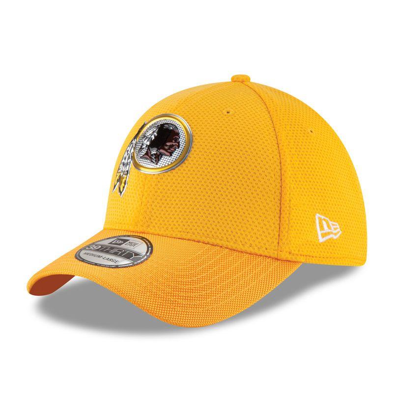 9af97d5f0 Washington Redskins New Era Youth Color Rush 39THIRTY Flex Hat - Gold