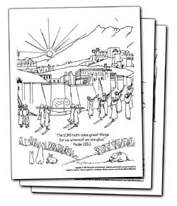 bible coloring pages - Psalm 56 3 Coloring Page