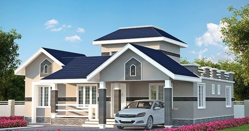 Three Bedroom Kerala Model House Plan Model House Plan Kerala