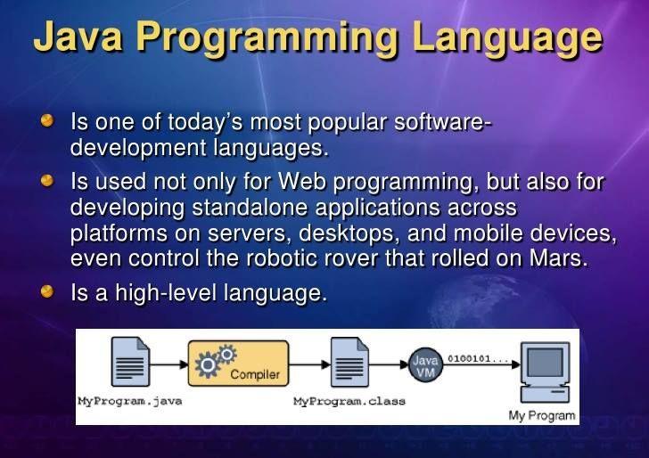 What Is Java Programming Language Learn Programming