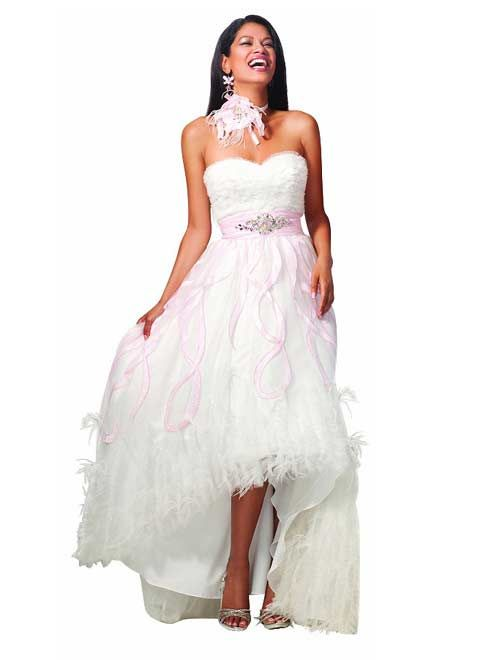 Cutest under 100 dollar, ball gown high low formal prom homecoming ...
