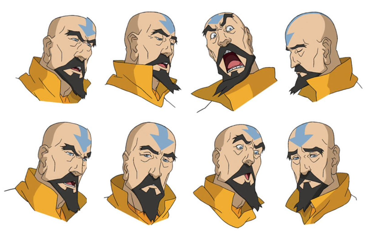 avatar character sheet korra character sheet | avatar characters, cartoon character