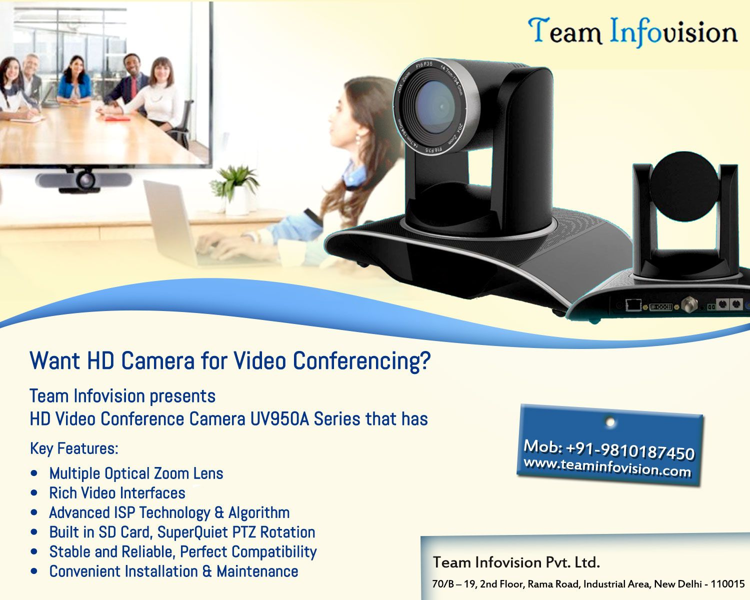 video presented key features - HD1500×1200