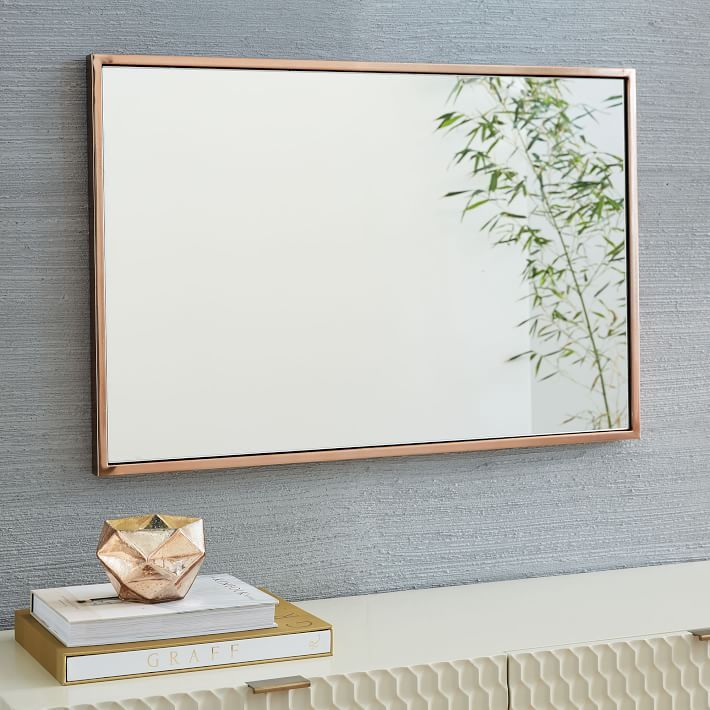Metal Framed Wall Mirror | Walls, Photo wall and Wall decor