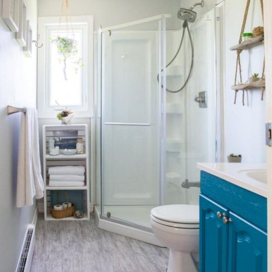 Beach Themed Bathroom Makeover Come See The Final Reveal Of This