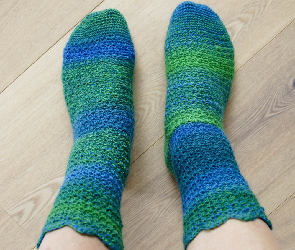 Doo IT - just doo it: Crocheted Socks