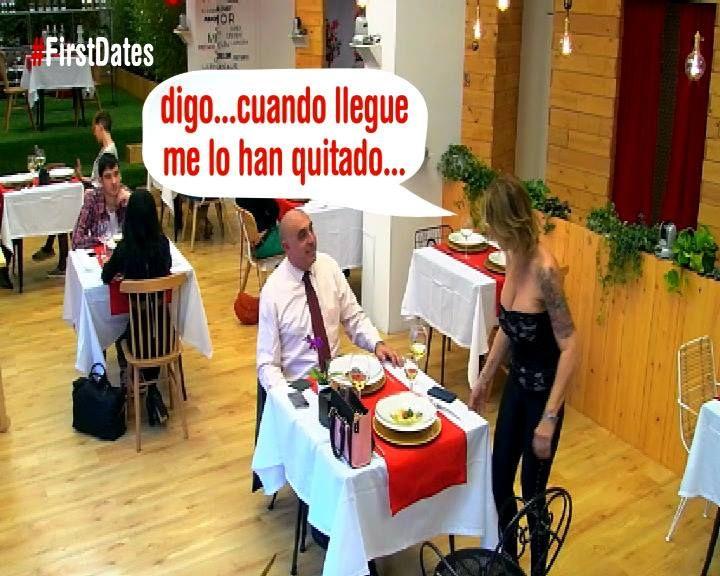 Más 'zascas' como este en First dates en Cuatro , de domingo a jueves a partir de las 21:30h.