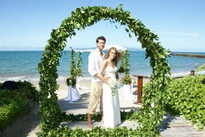 love this arch fiji wedding and fiji honeymoon specialists
