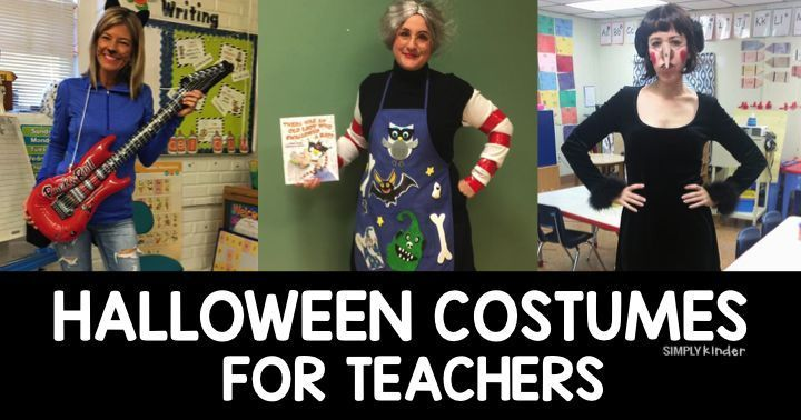 Halloween Costumes for Teachers Halloween costumes, Teacher and - school halloween costume ideas