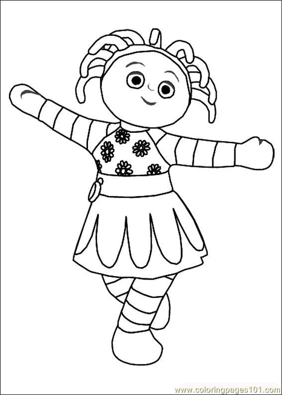garden coloring pages characters - photo#12