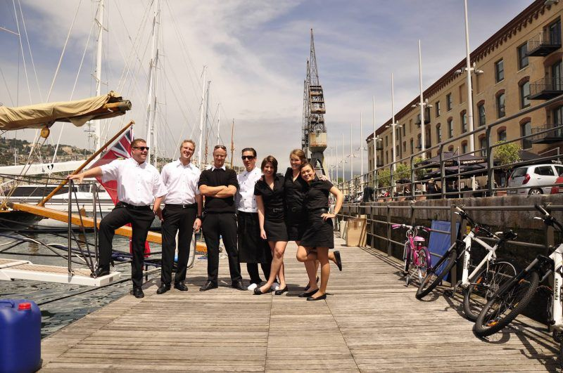 Guide to a yacht stewardess working on superyachts