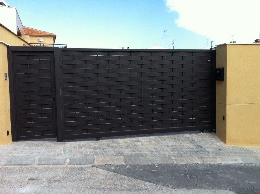 Puertas de entrada chalet buscar con google decoracion pinterest gates - Puertas de chalet ...