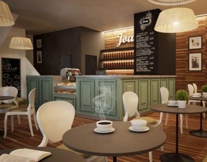 Joan's Café, Veresegyház, Hungary - 2012 | Juice bar design